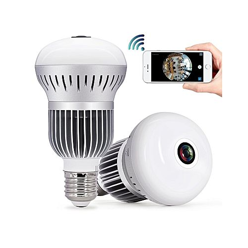 Camera White Light: Buy Wireless IP Hidden Camera Bulb Camera With LED White