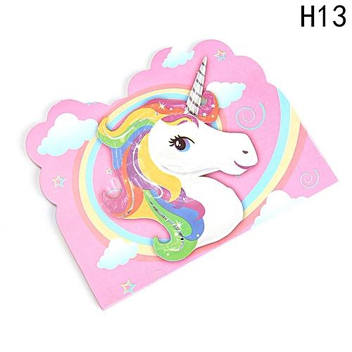 Kids Unicorn Theme Party Decoration Supplies H13