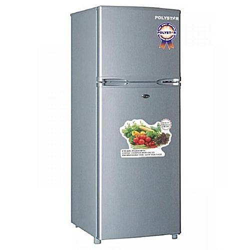 Polystar Double Door Refrigerator - 215 Litres