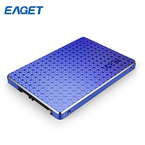 EAGET S500 2.5 Inch Solid State Drive SATA 3.0 Portable SSD - PURPLE