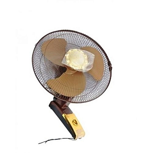 Wall Fan 16 Inches With LED Light Regulator And Rob Control
