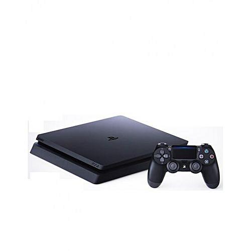 PS4 Slim Console 500GB - Jet Black