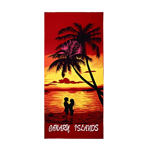 Xiuxingzi_Dtrestocy Square Beach Towel Sand Beach Flag Printed Beach Cover Up Bikini