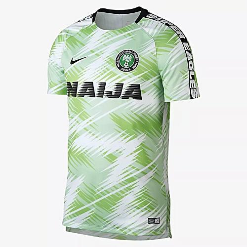 9214c624b04 Nike Nigeria Training Jersey 2018 2019