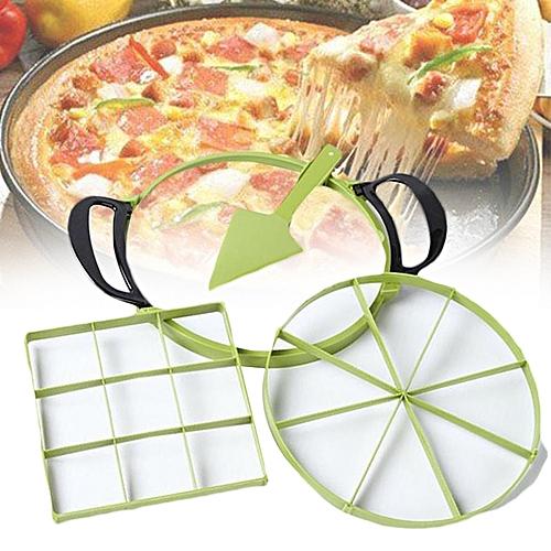Pizza Round Cutter Slicer Garden Kitchen Cooking Cooker Tool Utensil Creative