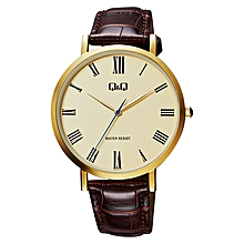 7fc8e3235e9 Gents Smart Casual Leather Strap Watch - QA20J117Y