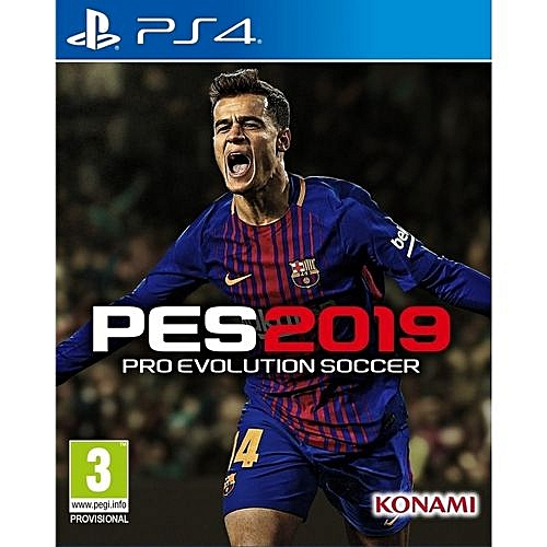 PlayStation 4 Pro Evolution Soccer 2019 - PES 19
