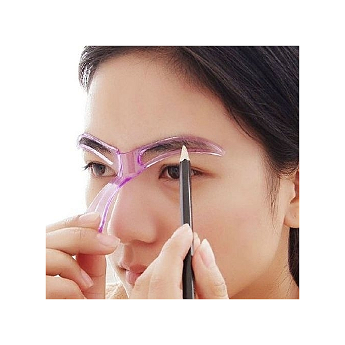 Fashion Fashion Eyebrow Template Stencil Grooming Shaping Helper Diy