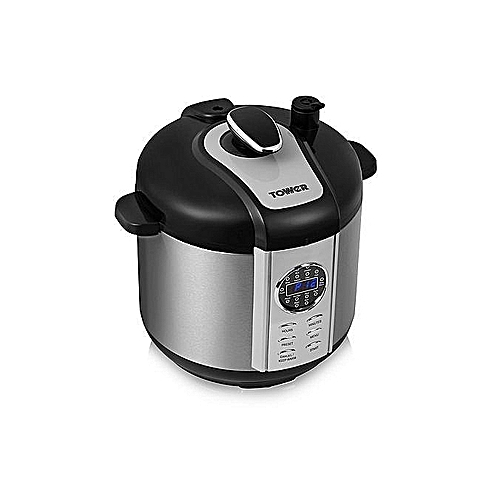 Tower Electric Pressure Cooker - 6Lts