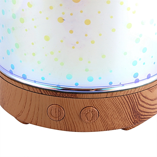 3D Aromatic Night Lamp Essential Oil Diffuser Mist Humidifier Aromather US Plug