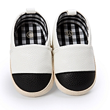 768039612e20 Baby Girl Boys Shoe Casual Leter Shoes Sneaker Anti-slip Soft Sole Toddler  - White
