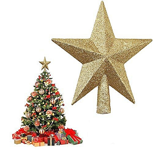 Star Shaped Christmas Tree Top