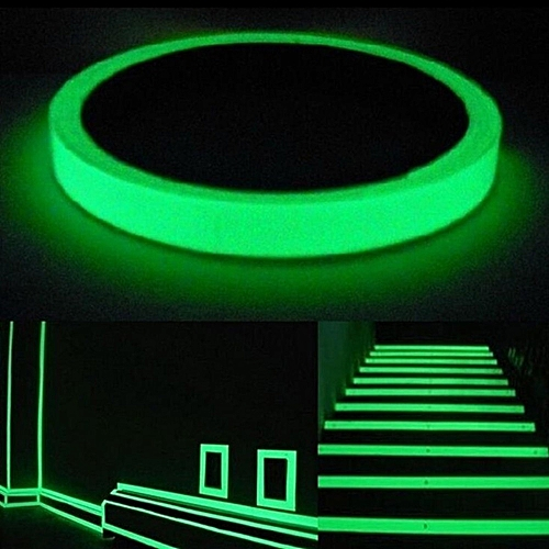 Technologg Shop Luminous Tape Self-adhesive Glow In The Dark Safety Stage Home Warning Tape
