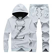 2 IN 1 Suits Mens Sports Suits Casual Tracksuits For Men Grey for sale  Nigeria