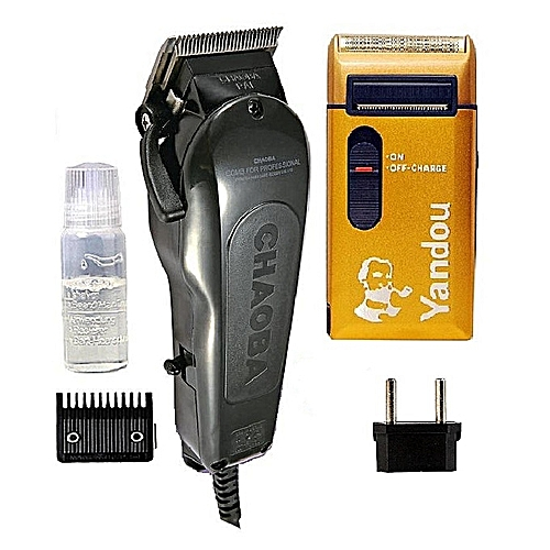 Hair Clipper With Yandou Rechargeable Shaver