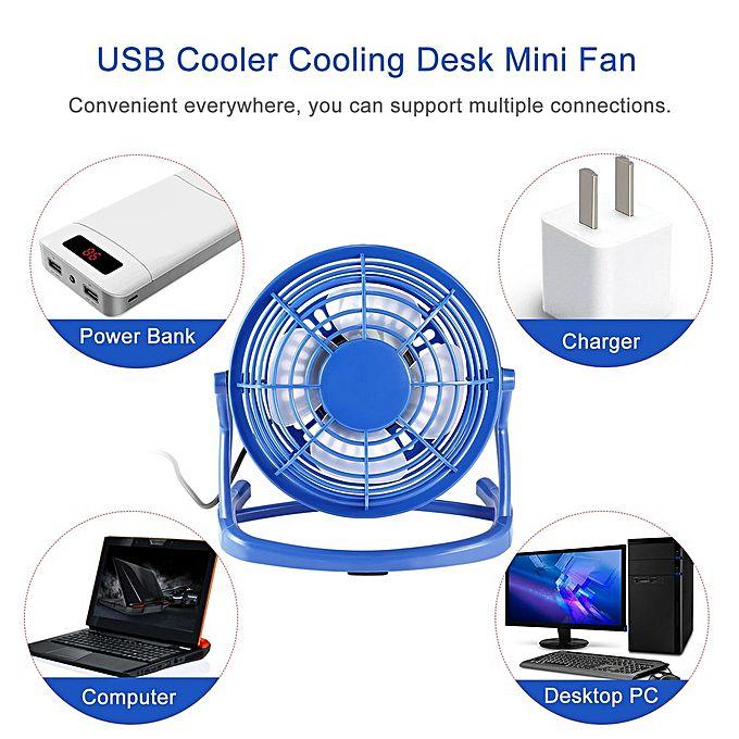 Desk Fan Dimensions : Allwin mini size usb fan portable super mute pc cooler