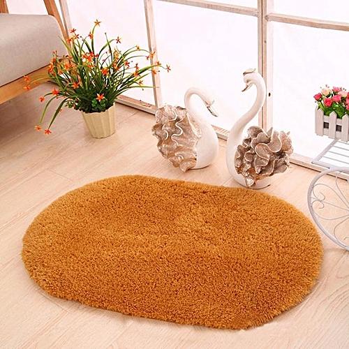 Soft Oval Memory Foam Bath Bathroom Bedroom Floor Shower Mat Rug KH