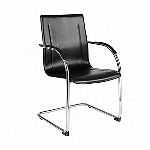 Office Visitor Chair - Black