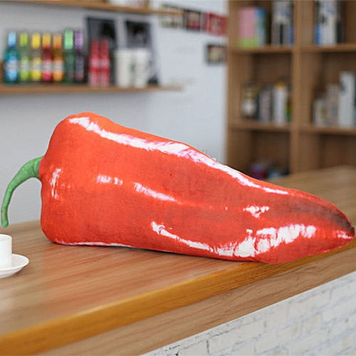 Simulation Vegetable Pillow Cushion Household Products Multi-color Red Pepper