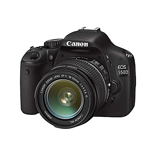 CANON 550D WITH 18-55MM LENS