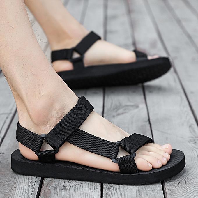 Slippers Sandals Men On Mens Black Shoes Slip O8nwNvym0