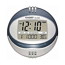 57a3a3d7694 Digital Wall Clock - Round