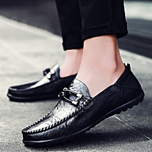 a85f799f13a0 Business Dress Men Formal Shoes Wedding Pointed Toe Fashion Genuine Leather  Shoes Flats Oxford Shoes For