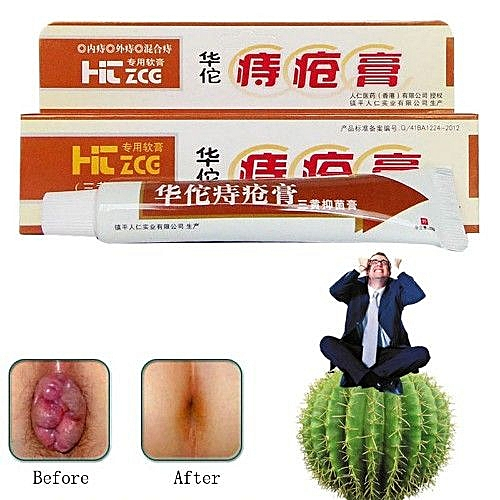Hemorrhoids Ointment Herbal Cream For Pile External Anal