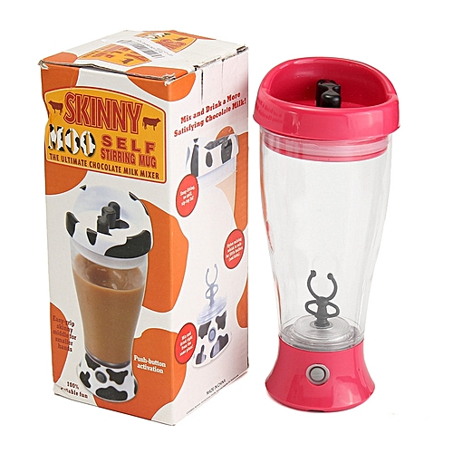 Electric Protein Shaker Blender Tornado Nutrition Mixer Bottle Cup 350ML Fitness