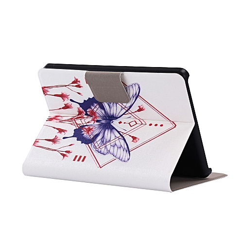 Folding Stand Painted Leather Case Cover For Amazon Kindle B
