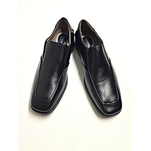 dbfc3d2a6f6 Merona Men Black Slip On Loafers
