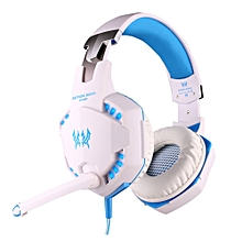ec62940c493 EACH G2100 USB And Audio Jack Dual Input Gaming Headset Stereo Sound  Vibration Headset Stretchable Band