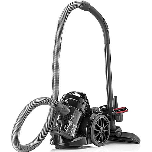1480W Bagless MultiCyclonic Canister Vacuum Cleaner, Black - VM1480-B5