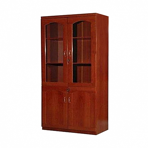 2D Wooden Office Bookshelf (Delivery In Lagos And Environs, Ibadan And Port-Harcourt Only)