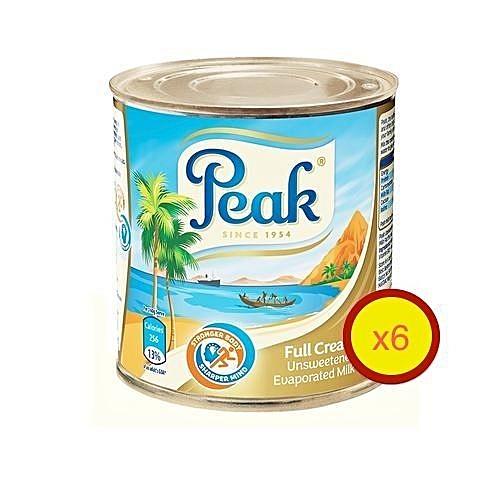 Peak Evaporated Milk 160g X 6