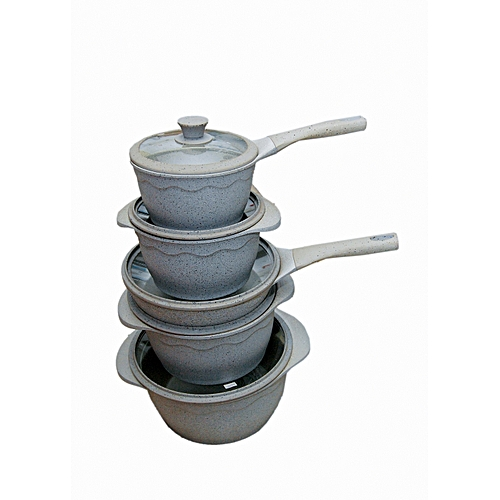 5 Set Pots With Frying Pan