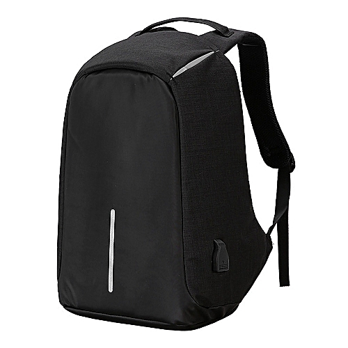 e1f6712fddb9 GENERAL Travel Backpack Anti-thief Large 15.6 Laptop Bag With USB Charing  Port Lightweight -Black
