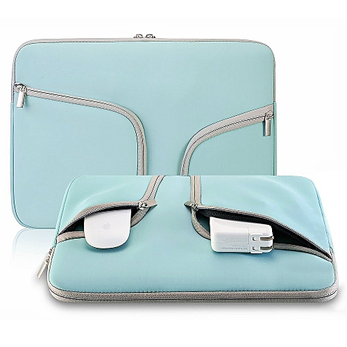 "15"" Laptop Bag, Fashion Waterproof Sleeve PorTablet Hand Bag For 15.4 Macbook Pro All Notebook, Turquoise"