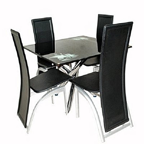 Generic executive dining table with 4 dining seater black lagos delivery only - Jumia office address in lagos ...