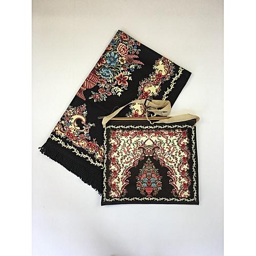 Muslim Prayer Mat With Bag For Travel Bag Prayer Mat ,Islam Prayer Rug With Bag Sets HGP-012 3D Print
