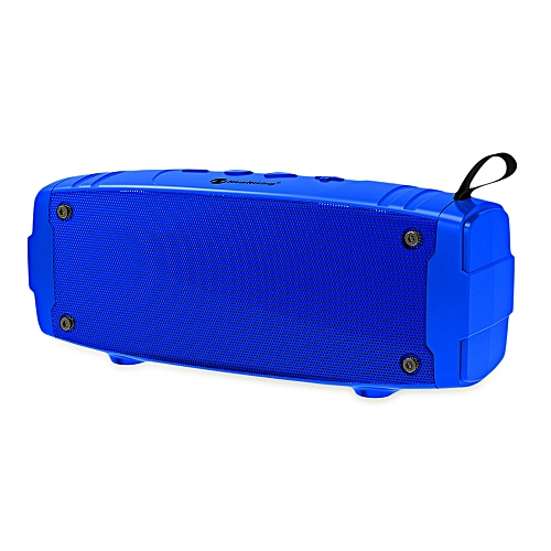 NewRixing NR - 3020 Outdoor Wireless Bluetooth Stereo Speaker Portable Player-OCEAN BLUE
