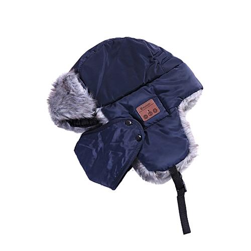 Bluetooth Music Hat With Stereo Headphone Headset Speaker Wireless Warm