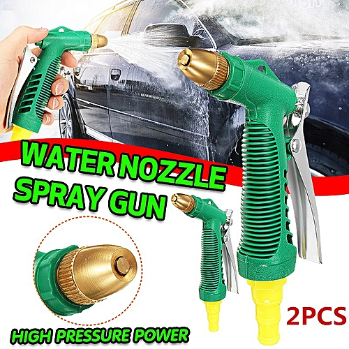 360?Adjustable High Pressure Water Nozzle Spray Garden Car Wash Pipe Outdoor