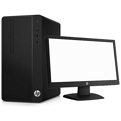 290 G1 Microtower PC Core I5 1TB/4GB FREEDOS Desktop PC + 18.5'' Monitor