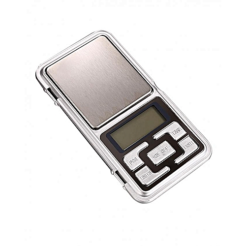 0.01g X 200g Electronic Digital Pocket Jewelry Scale Weight Balance-Silver