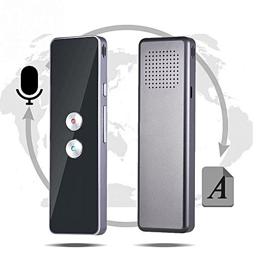 Smart Accurate Translator 30+ Languages Lightweight High Recognition Ability Voice Translator WOEDA