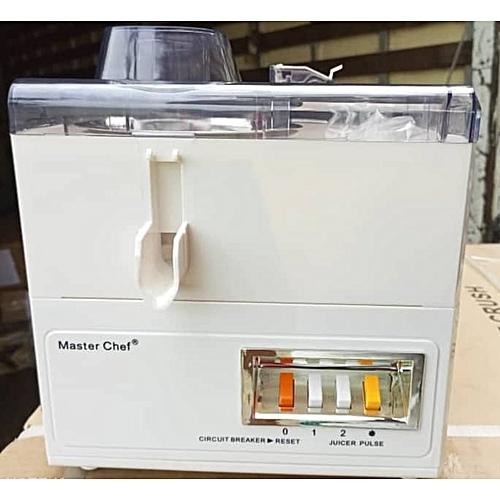4 In 1 Masterchef Food Processor: Juicer, Blender, Grinder And Mill