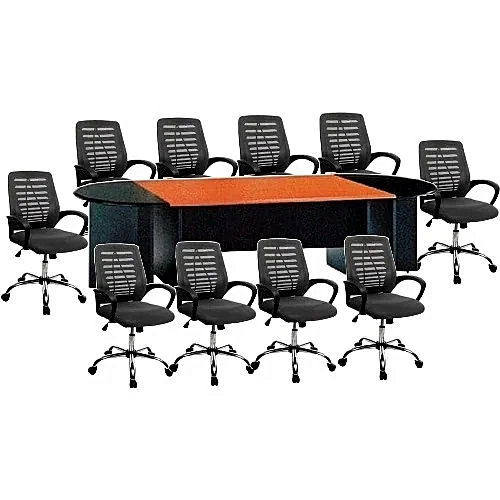 Conference Table And 10 Swivel Chairs (Lagos Only)
