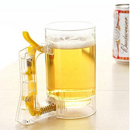 Creative Sparkling Beer Mug - Transparent