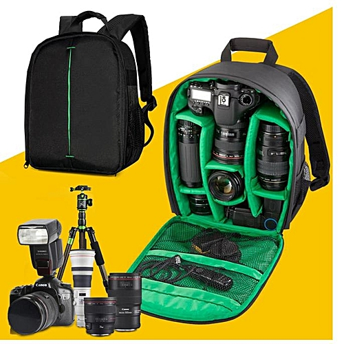 Camera Bag Backpack Waterproof DSLR Case With Carabiner For Canon GN